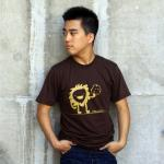 Nom Nom Nom Tshirt - Brown American..