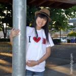 I Heart Bacon Tshirt - White Americ..