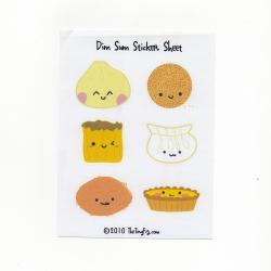 Dim Sum Sticker Sheet