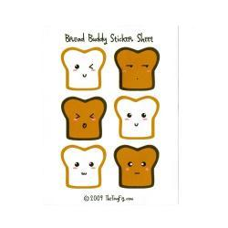 Bread Buddy Sticker Sheet